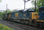 CSX 8614 on Q409